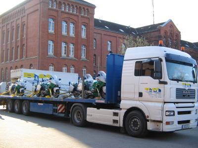Polizeikräder nach Bruchsahl