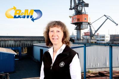 Birgit Gühne Sekretariat / Verwaltung Tel:  49 (0)511 - 921930 Fax:  49 (0)511 - 9219315 Mail: birgit.guehne@bm-spedition.de